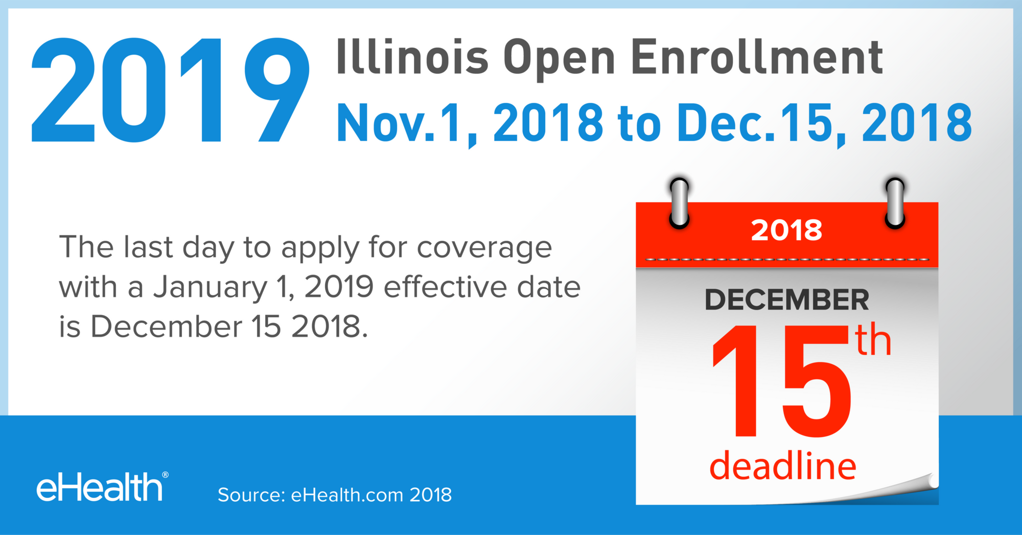 2019 Open Enrollment In Illinois Ehealth